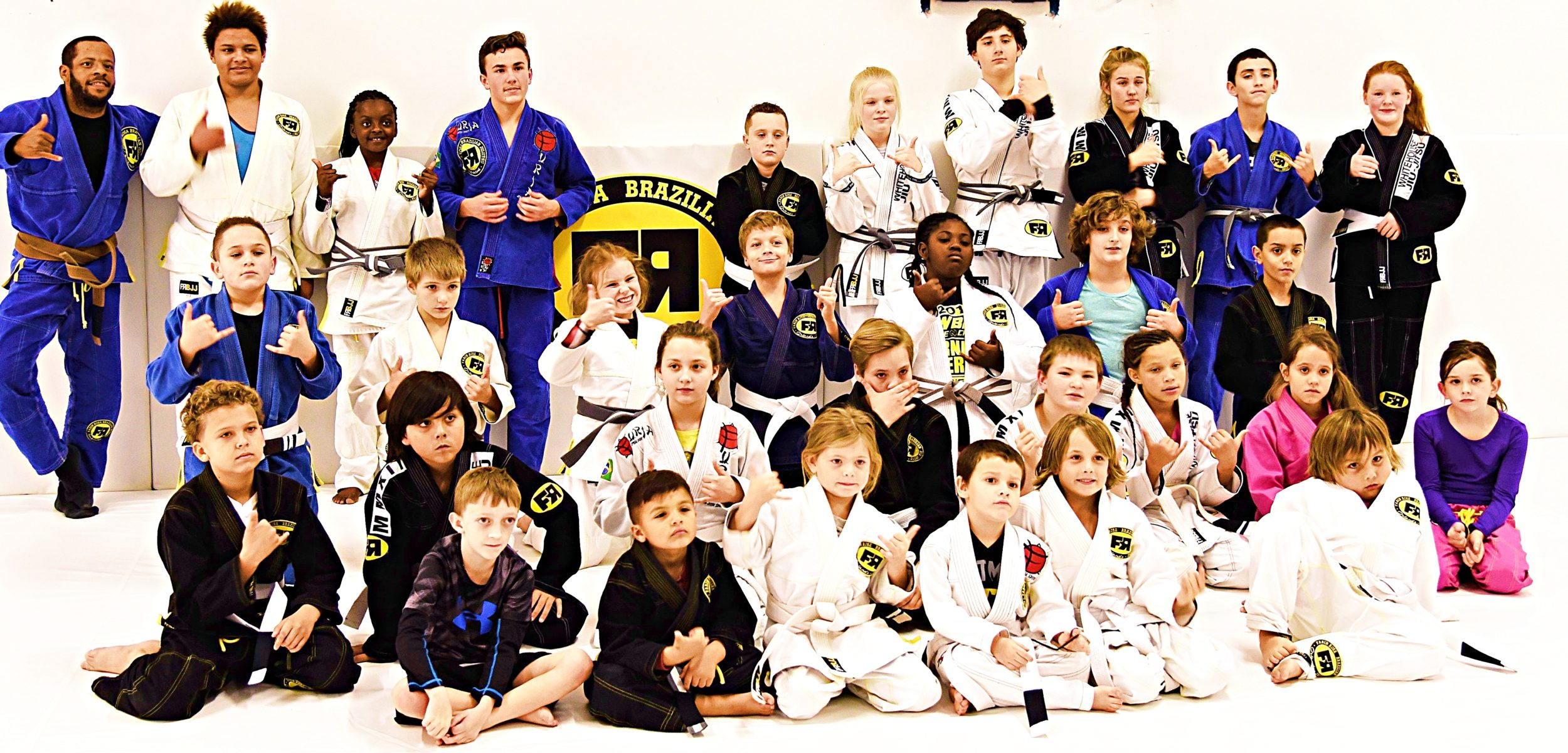 White House Jiu Jitsu Kids